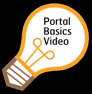 Lightbulb graphic link to provider portal training video